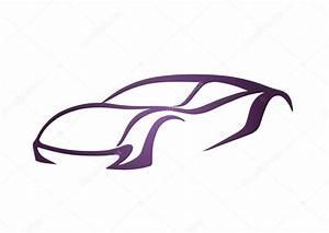 Abstract vector car logo — Stock Vector © topcu #37558147