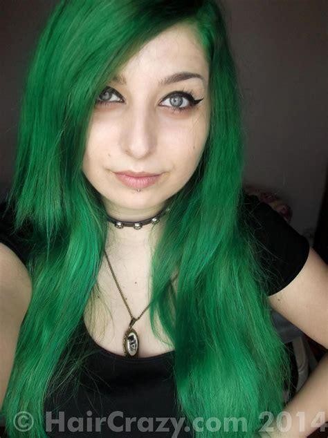 Buy Dark Cool Toned Green Hair Colour At