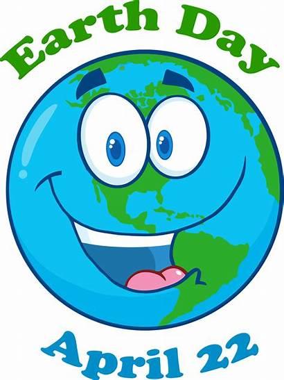 Earth Cartoon Happy Clipart Clip Character Planet