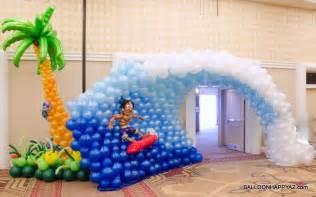 aloha mitzvah a luau in balloons