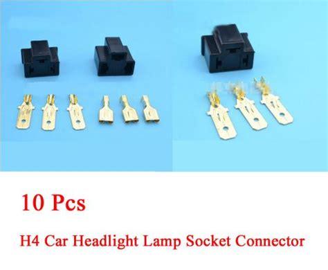 Find Connector 10 Set H4 Car Automotive Headlight Lamp