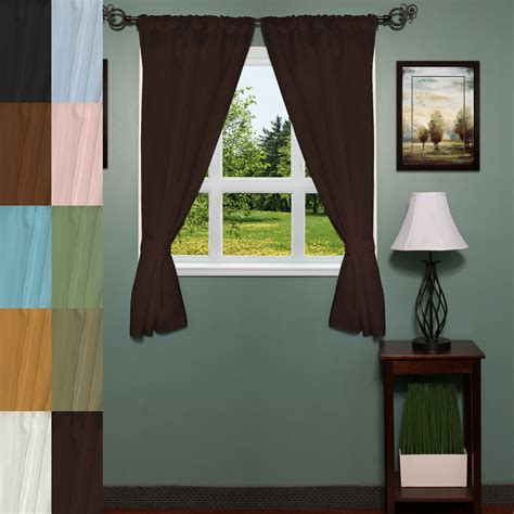 Bad Fenster Vorhang by Classic Hotel Quality 36 Quot W X 54 Quot L Fabric Bathroom Window