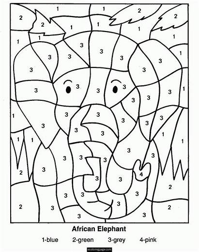 Coloring Addition Pages Printable Popular