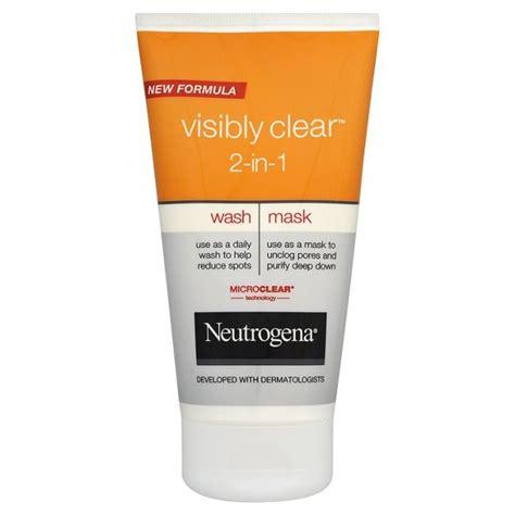 Neutrogena  Neutrogena Visibly Clear 2 in 1 Review