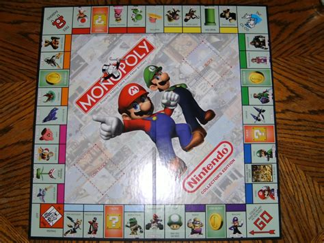 Related Keywords Suggestions For Nintendo Monopoly Board