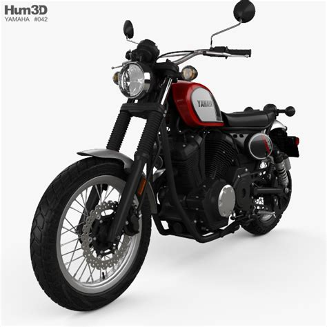 yamaha scr 950 yamaha scr 950 2017 3d model vehicles on hum3d