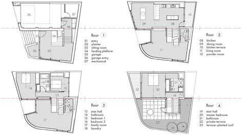 split entry floor plans floor plans terrace split level house in philadelphia by