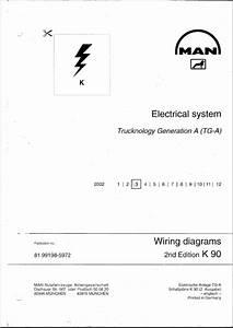 Man Tga Electrical System Diagrams Repair Manual Order