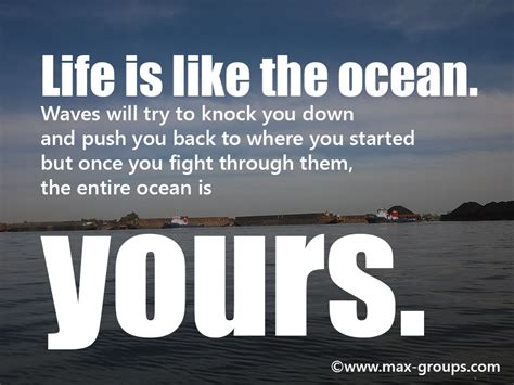 ocean related quotes quotesgram