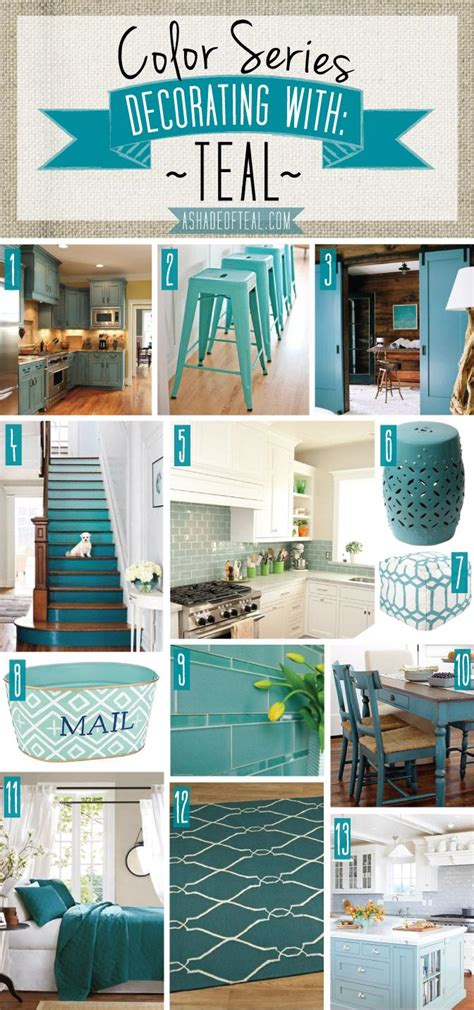 teal blue kitchen accessories color series decorating with teal decor 6019