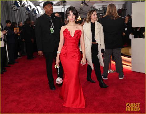 Camila Cabello Stuns Red Dress Grammys Photo