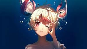 Underwater, Anime, Artwork, Wallpapers