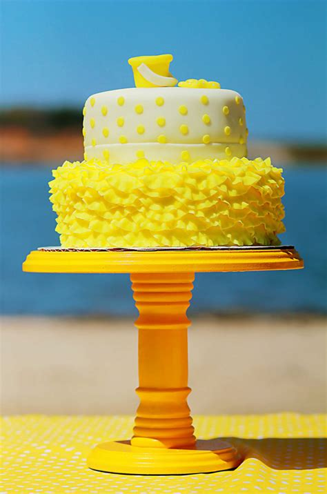 kids yellow polka dot bikini beach party evite