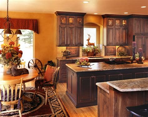 Primitive Decor Kitchen Cabinets by Rustic And Country Kitchens