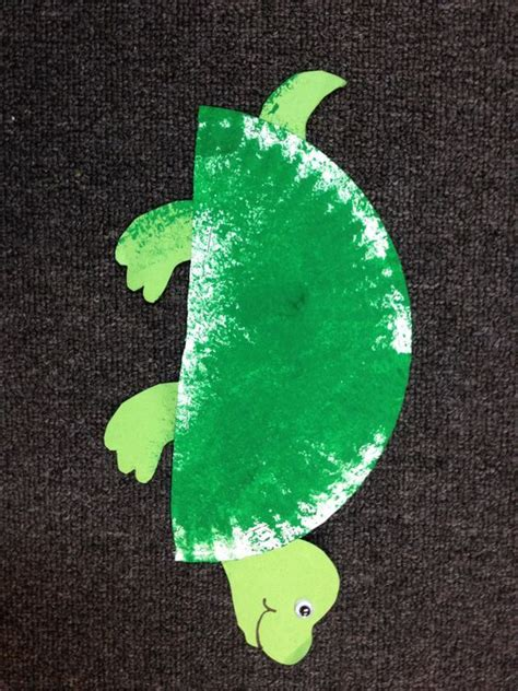 turtle craft  preschoolers preschool spring