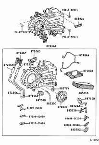 2005 Toyota Sequoia A  C Evaporator Drain  Hose  Cooler