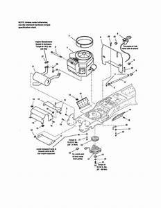 Craftsman Model 107250050 Lawn  Tractor Genuine Parts
