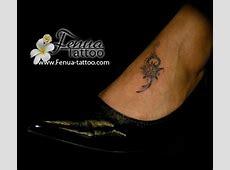 Tatouage Tortue Maorie Cheville Tattoo Art
