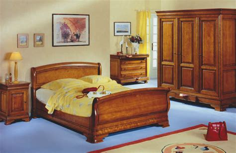 chambre merisier massif louis philippe images