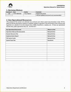 Instruction Manual Template Free Download Of 40 Free