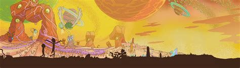 Displayfusion Animated Wallpaper - rick and morty images wallpaperfusion by binary