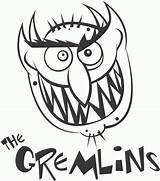 Gremlins Coloring Gizmo Clipart Colorear Gremlin Monster Dibujos Scary Dibujo Printable Popular Monstruos Imprimir Sheets Library Mohawk Template sketch template