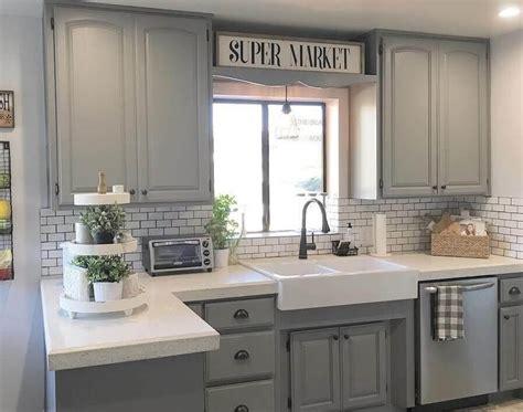 Permalink to Grey Kitchen Cabinet Design Ideas