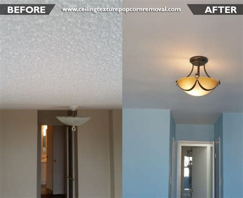 ceiling texture popcorn removal  professional