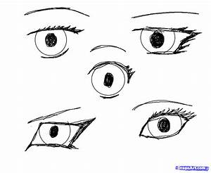 Easy Anime Eyes To Draw - Pencil Art Drawing