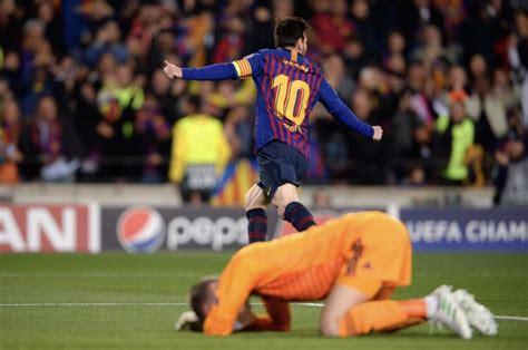 barcelona troll man utd  messi helps secure big win