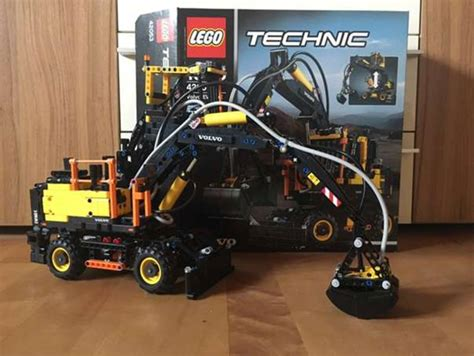 lego volvo bagger lego technic volvo bagger mit power functions