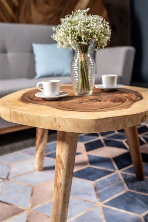 With a dream of starting a chain of coffee shops, the herman family pooled their talents and resources to. Round Suar Wood Coffee Table - Masons Home Decor