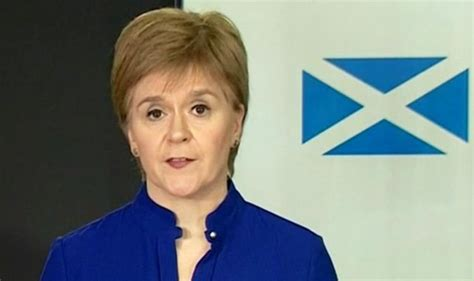 Nicola Sturgeon launches bizarre rant as she scolds Scots ...