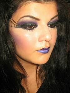 Sexy Witch Halloween Makeup Tutorial - YouTube
