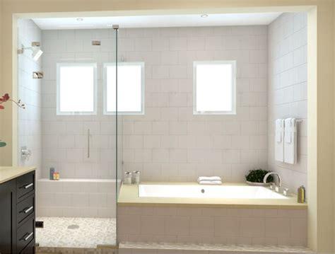 master bath tub shower combo op  master bath