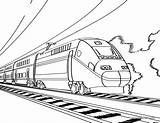 Coloring Train Pages Adults Printable Toddlers Fascinating 8th June sketch template