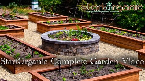 startorganic complete vegetable garden setup guide youtube