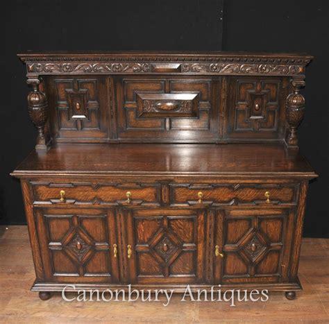 Kitchen Sideboard by Antique Oak Jacobean Sideboard Server Buffet Kitchen Furniture