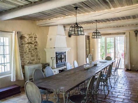 la salle a manger salon de provence location en 224 mornas vaucluse ref m1250