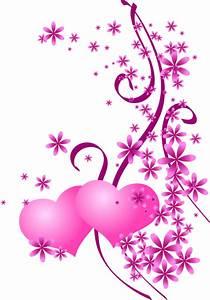 Dessin Couple Mariage Couleur : saint valentin coeurs roses ~ Melissatoandfro.com Idées de Décoration