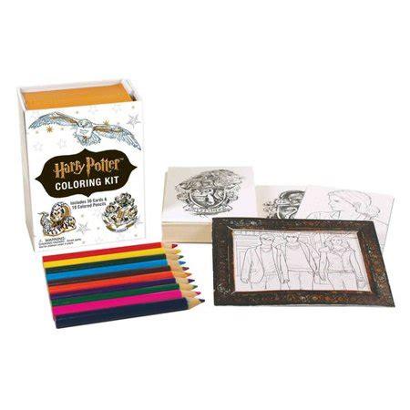 harry potter coloring kit walmartcom