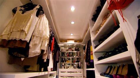 tour kendall and kylie jenners closets video hgtv