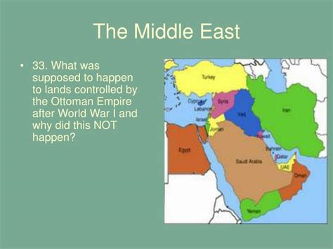 what happened to the ottoman empire after world war 1 ppt chapter 13 the interwar years 1919 1939 powerpoint