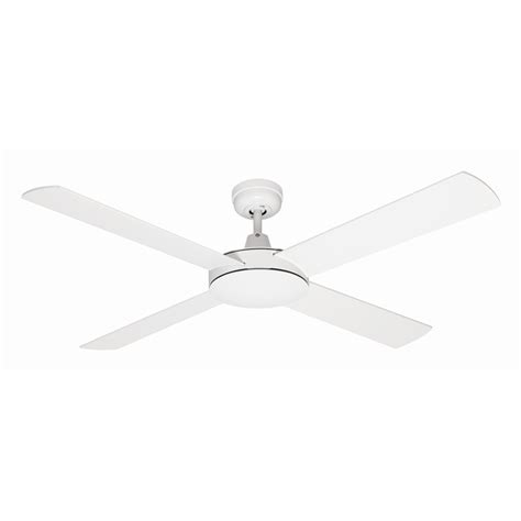 mercator 130cm white 4 blade grange ceiling fan bunnings