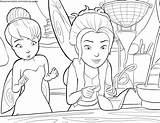 Coloring Fairy Pirate Tinkerbell Zarina Disney Bell Tinker Clochette Dust Cu Din Colorat Coloriage Fadas Fairies Clopotica Colorir Pixie Rose sketch template