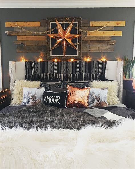 Decorating Ideas For Rustic Glam Bedroom by Rustic Boho Glam Master Bedroom By Blissfully Eclectic