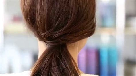 bumble and bumble hair styles the low pony with a twist how to bumble and bumble second 6336