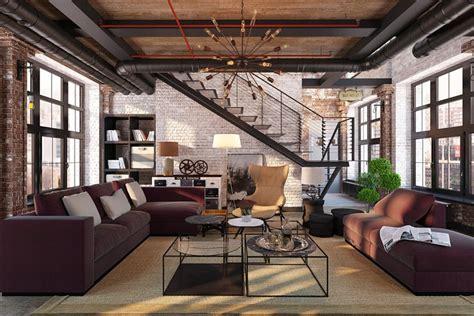 chaise de bureau style industriel industrial living room design ideas archivizer com