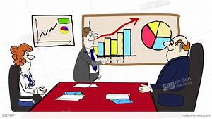Stock Market Chart App Business Cartoon 02 Stock Animation 6527947