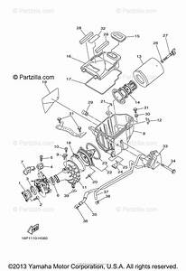 Yamaha Atv 2009 Oem Parts Diagram For Intake